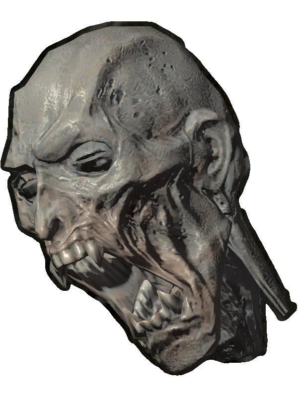 Голова древнего вампира