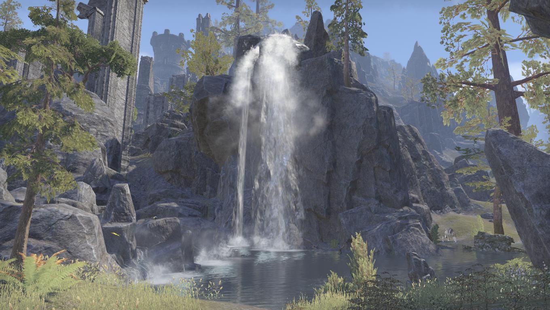 Водопад Скала вражды