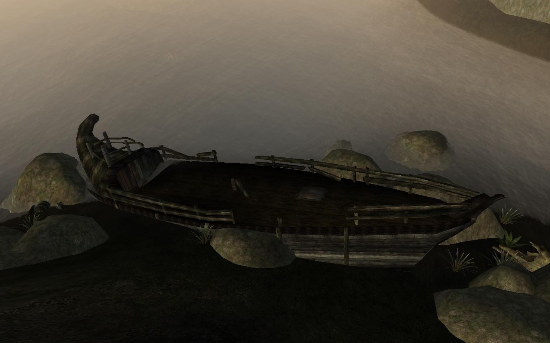 Неисследованные обломки корабля