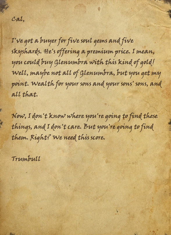 Trumbull's Note
