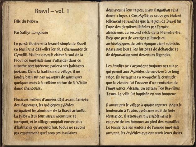 Bravil – vol. 1