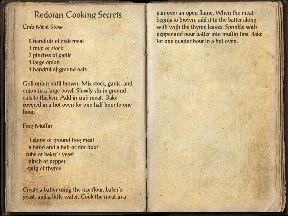Redoran Cooking Secrets (Online)