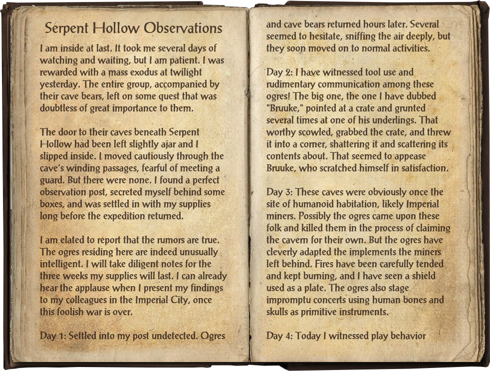 Serpent Hollow Observations