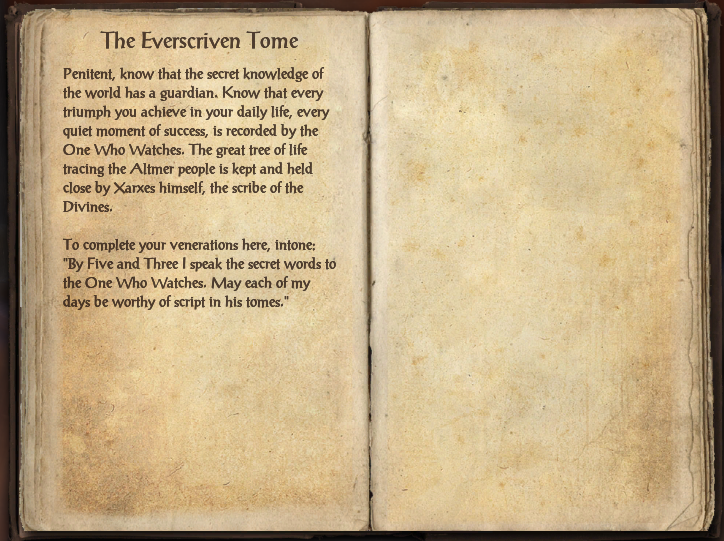 The Everscriven Tome