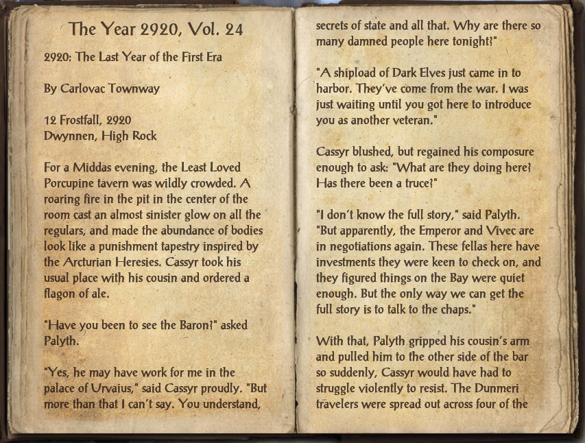 The Year 2920, Vol. 24