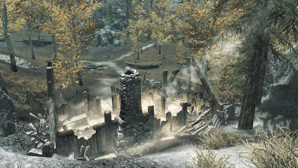 The Burning Farmhouse
