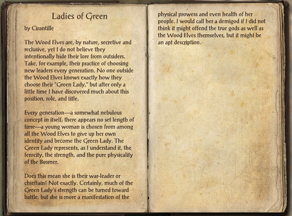 Ladies of Green