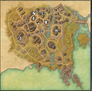 Mapa de de la SE