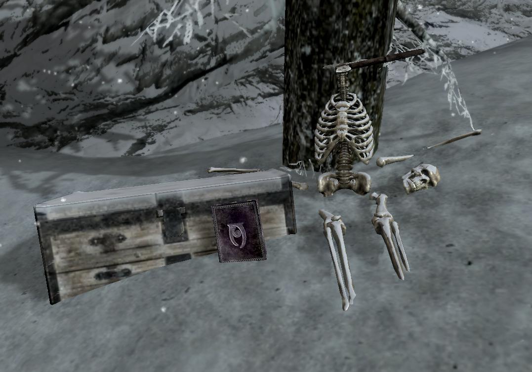 Безголовый скелет