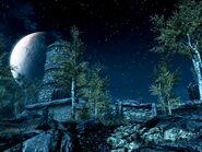 Тревская застава ночью