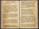 Aldimion's Journal