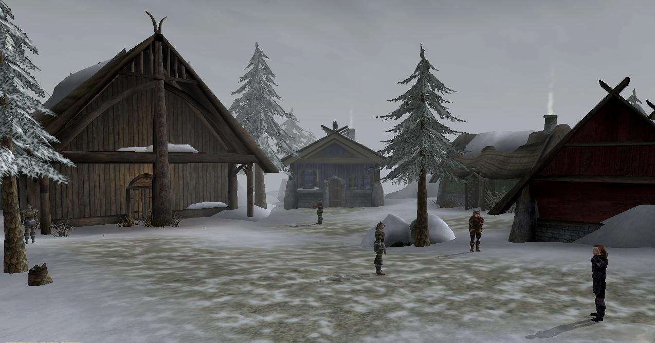 Skaal Village (Bloodmoon)