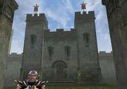 TES3 Morrowind - Pelagiad - Fort Pelagiad exterior