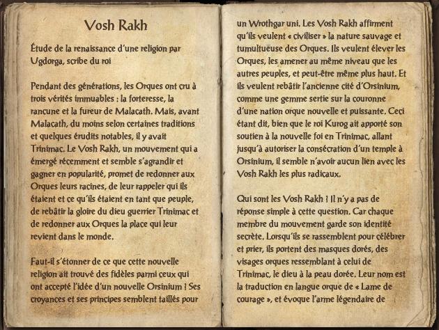 Vosh Rakh (Livre)