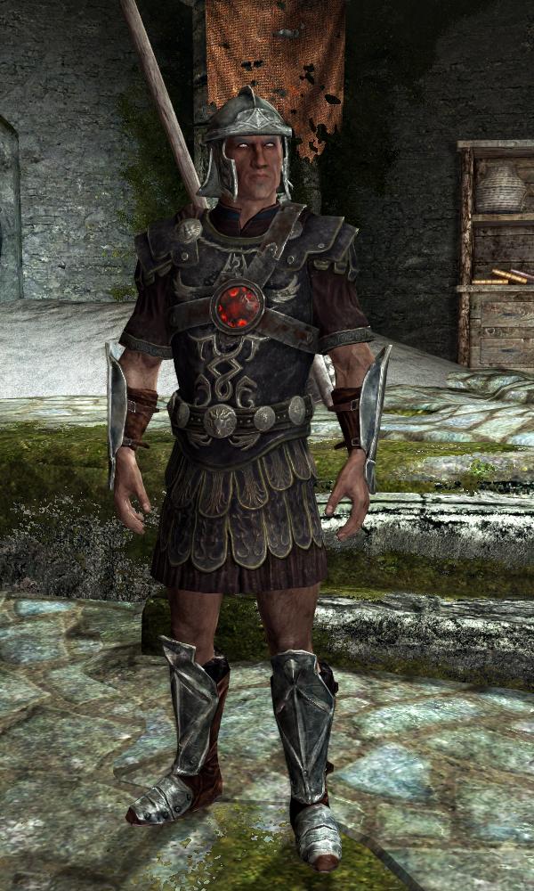 General Carius' Armor
