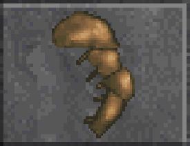Leather Left Pauldron (Daggerfall)