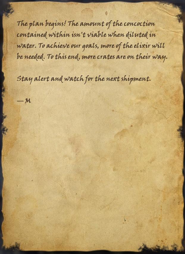 Note on Broken Crate