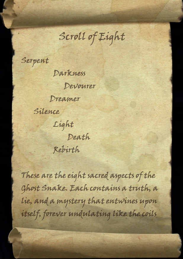 Scroll of Eight