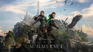 The Elder Scrolls Online Summerset tapeta promocyjna