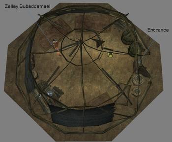 Yurt interior map