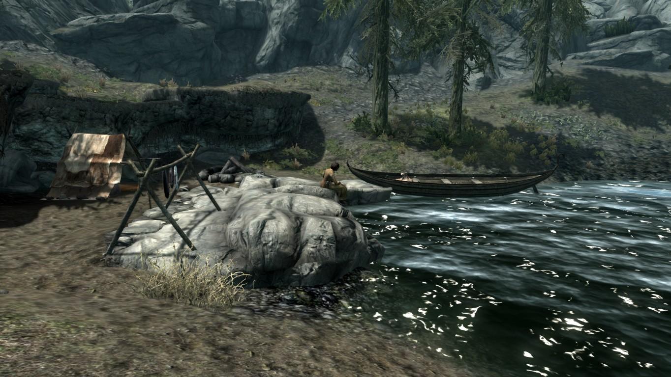 Лагерь рыбака — Озеро Илиналта