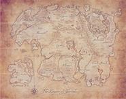 Tamriel Anthology Map