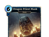 Маска драконьего жреца