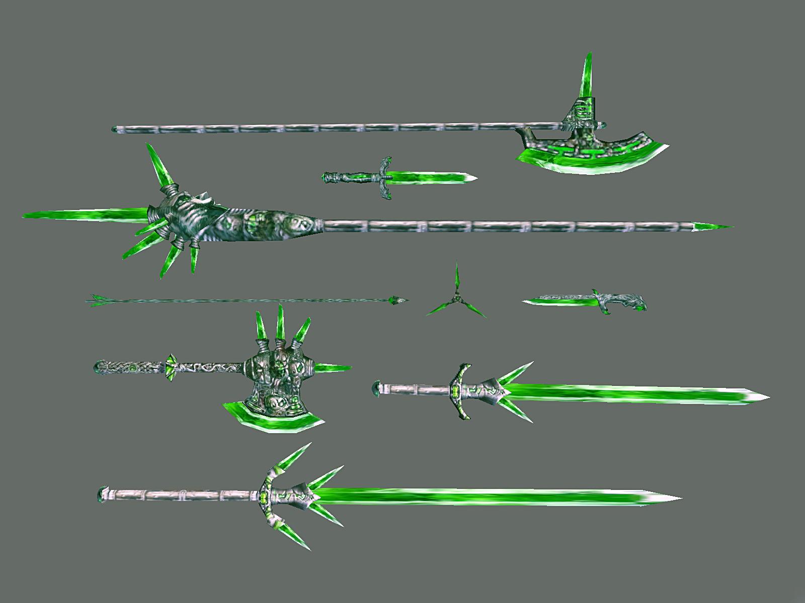 Стеклянное оружие (Morrowind)