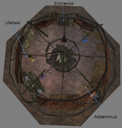 Addammus Yurt Interior Map