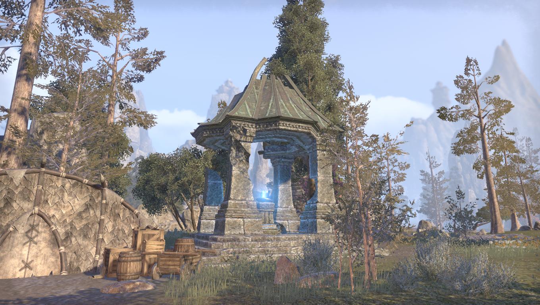 Дорожное святилище долины Шрамов