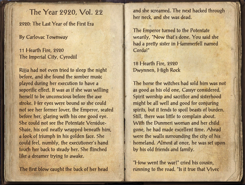 The Year 2920, Vol. 22