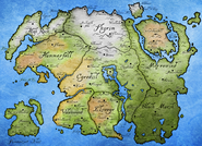 Mappa Province Tamriel