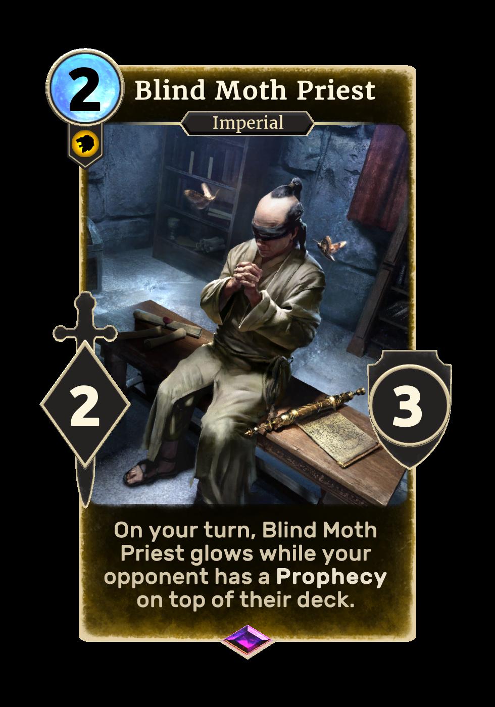 Blind Moth Priest (Legends)