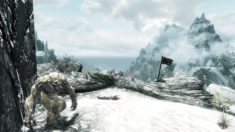 Frost Troll Den: Jerall Mountain Ridge