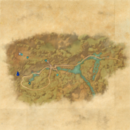 King's Haven Pass Pilgrimage's End Map