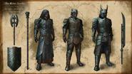 Ancient Orc Armors Concept Art