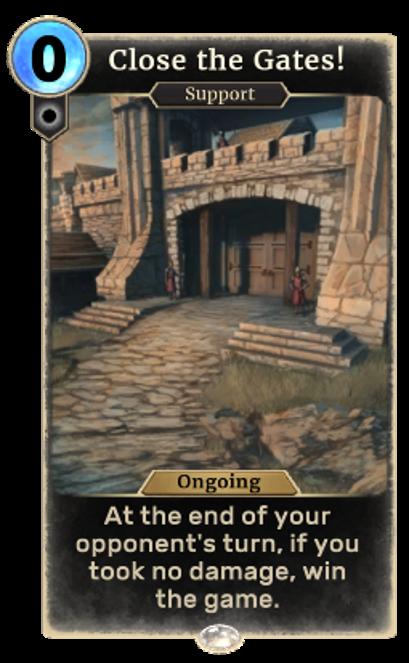 Close the Gates!