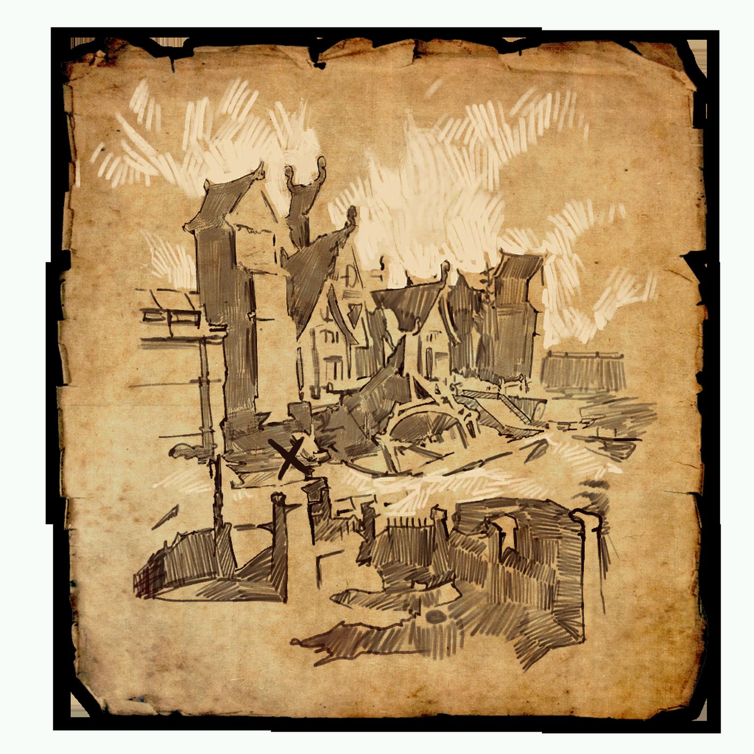 Cyrodiil Treasure Map XII