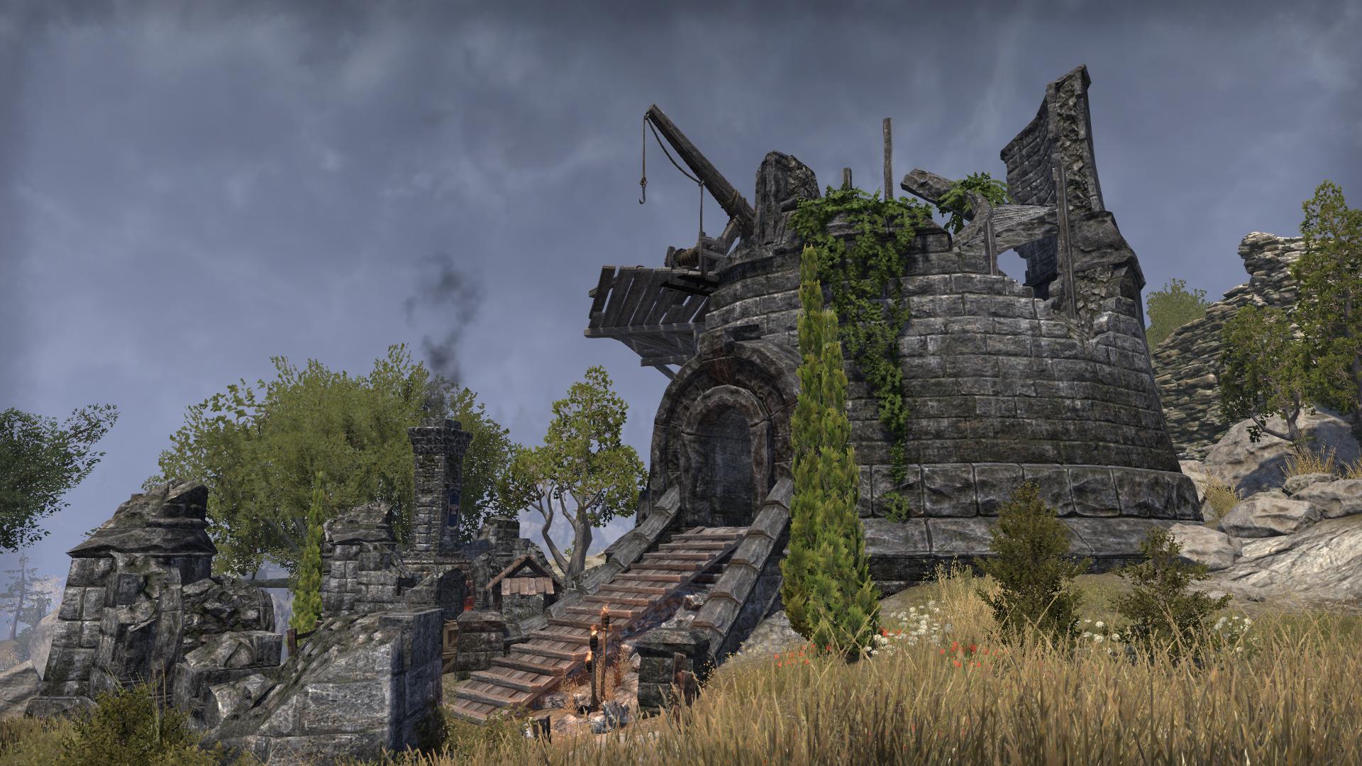 Colovian Revolt Forge Yard