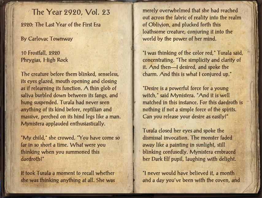 The Year 2920, Vol. 23