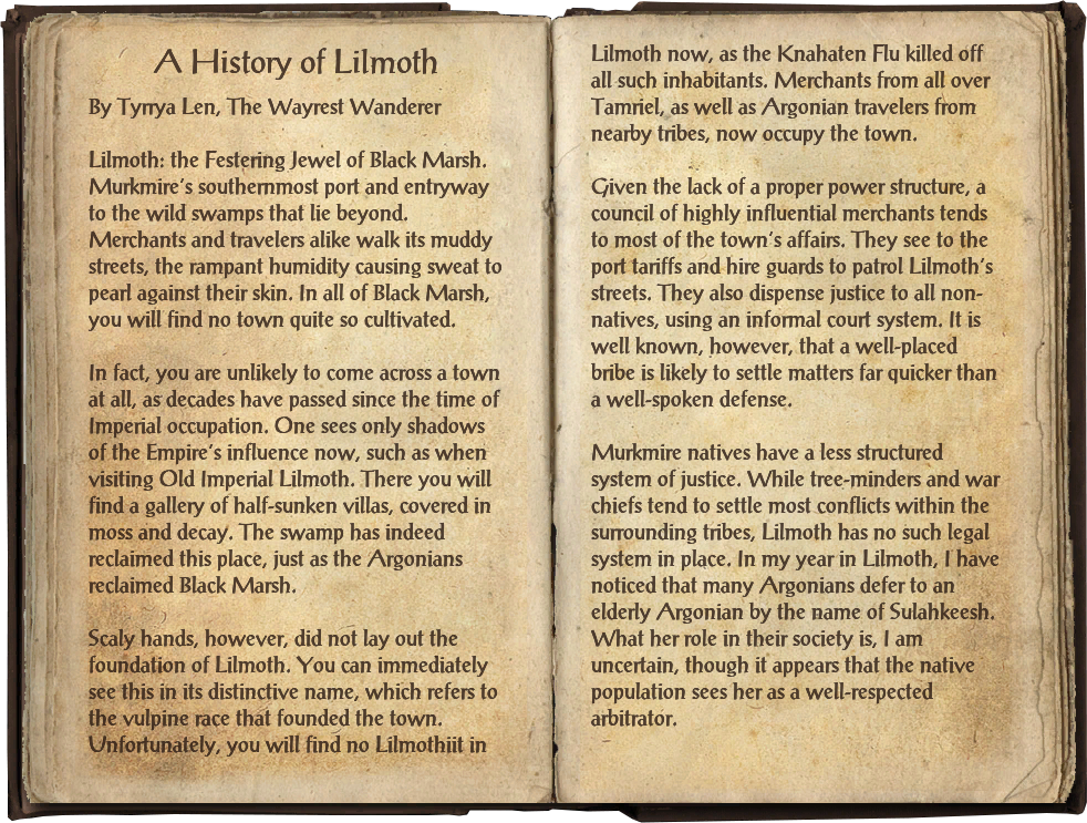 A History of Lilmoth