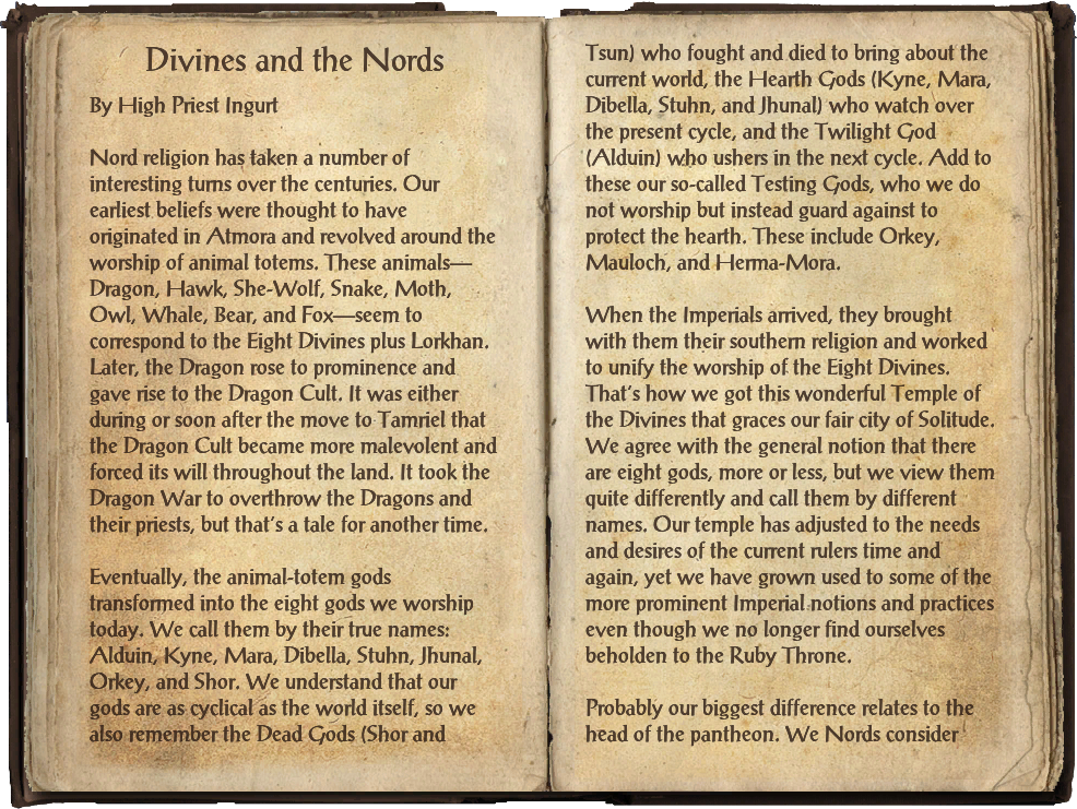 Divines and the Nords