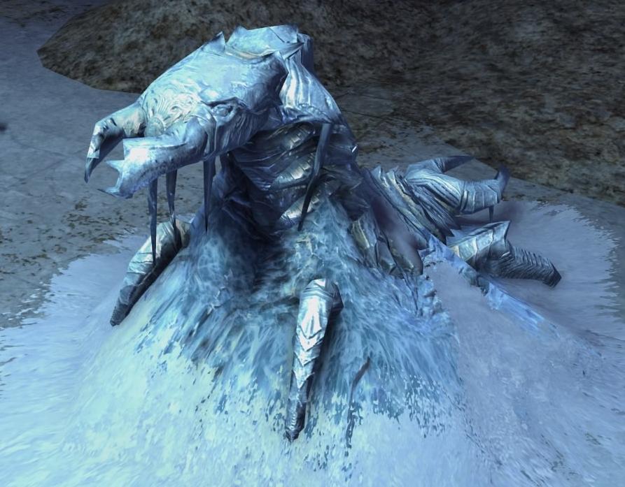 Frozen Chaurus