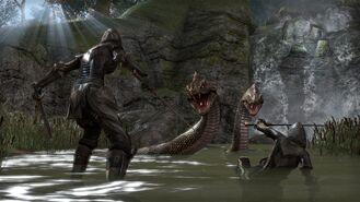 Teso-giant-snake-batle