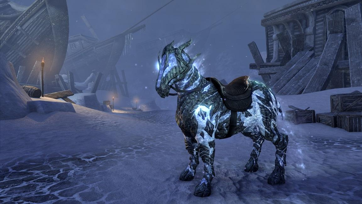 Night Frost Atronach Steed
