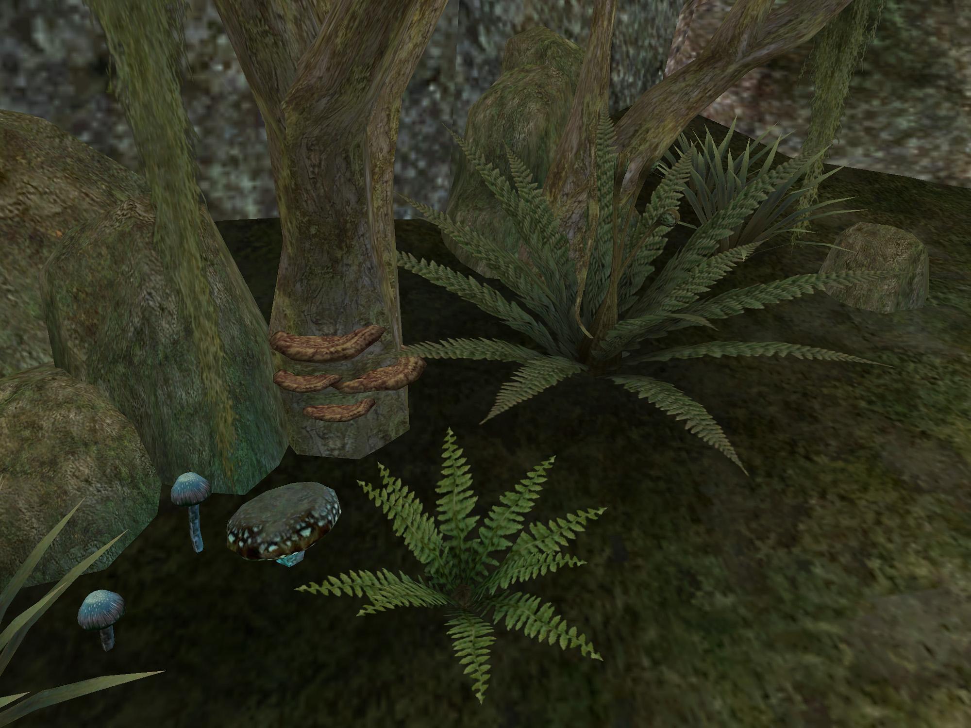 Лиловый копринус (Morrowind)