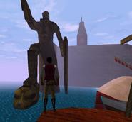 Frandar Hunding Statue