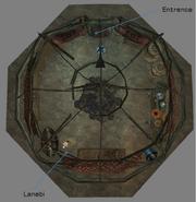 Lanabi Yurt Interior Map