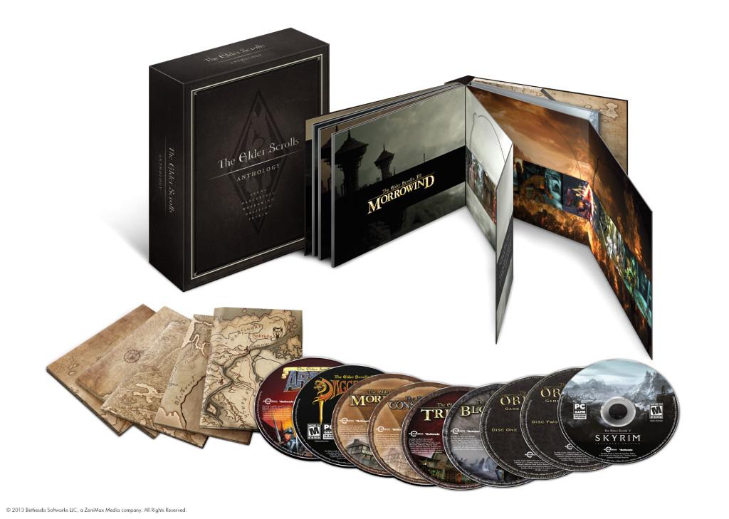 WFlash/Bethesda anuncia The Elder Scrolls Anthology