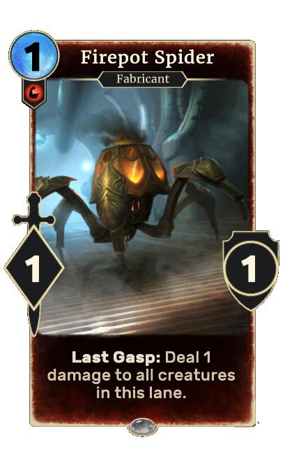 Firepot Spider (Legends)